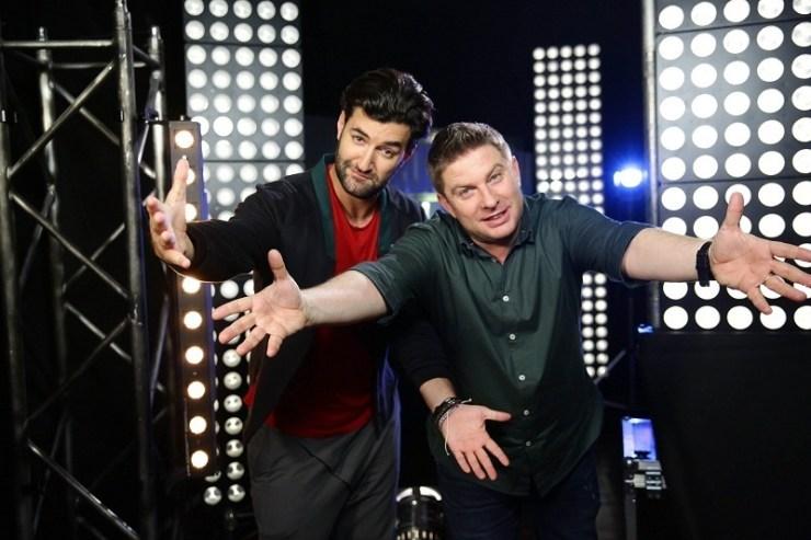 Smiley si Pavel Bartos PRO TV