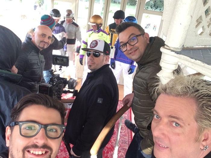 VOLATAJ filmare viena pentru eurovision