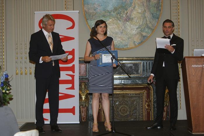 Marele premiu al indutriei romanesti - Automobile Dacia - capital