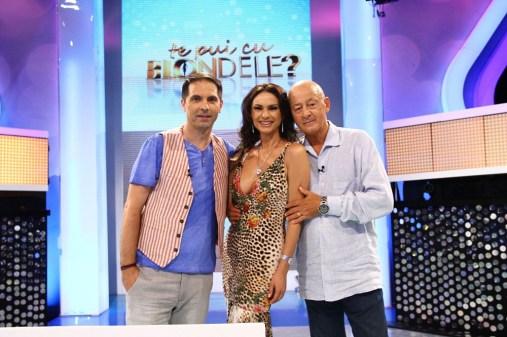 Dan Negru, Ramona Badescu si Mihai Tatulici TE PUI CU BLONDELE, ANTENA 1
