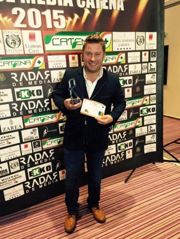 PAVEL BARTOS PREMIILE RADAR DE MEDIA 2015