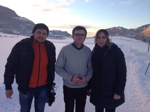 Record pentru TVR cu reportajul despre familiei Botanariu din Norvegia!