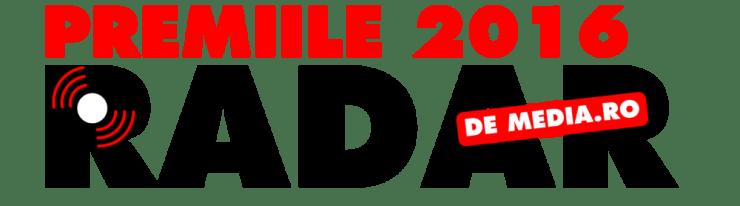 LOGO PREMIILE RADAR DE MEDIA 2016