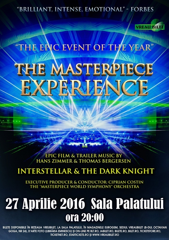 The Masterpiece Experience - Bucuresti