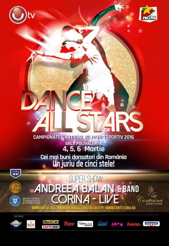 DANCE ALL STARS- Campionatul National de Dans Sportiv