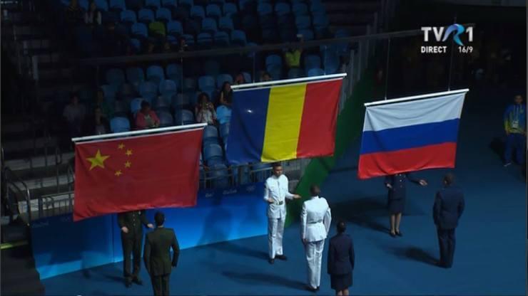 romania medalie de aur spada RIO 2016 - TVR 1 (2)