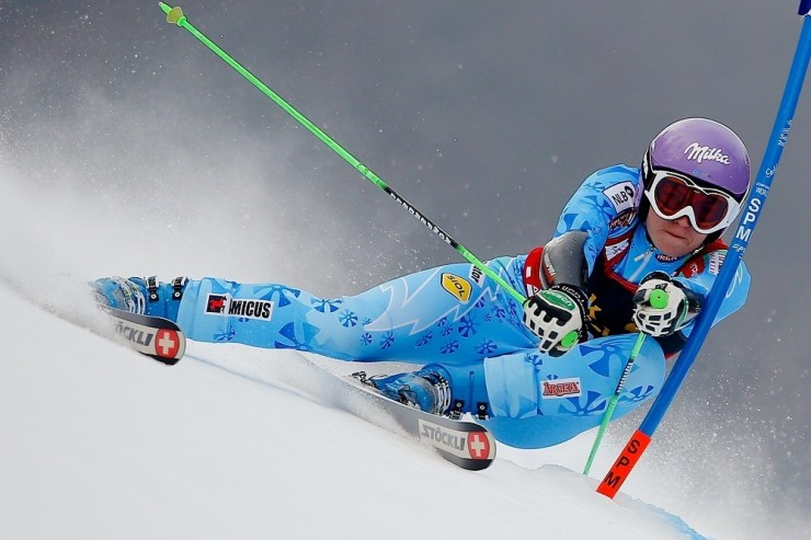 Reference : a13-mtrmawg-sg-01-41 Theme : ALPINE Style : ACTION People : WOMEN Discipline : GIANT SLALOM Racer's name : MAZE Tina Nationality : SLO Place : MARIBOR (SLO) 2013 Event : AUDI FIS ALPINE SKI WORLD CUP 2013 Skis : STOECKLI Copyright : Stanko GRUDEN/AGENCE ZOOM