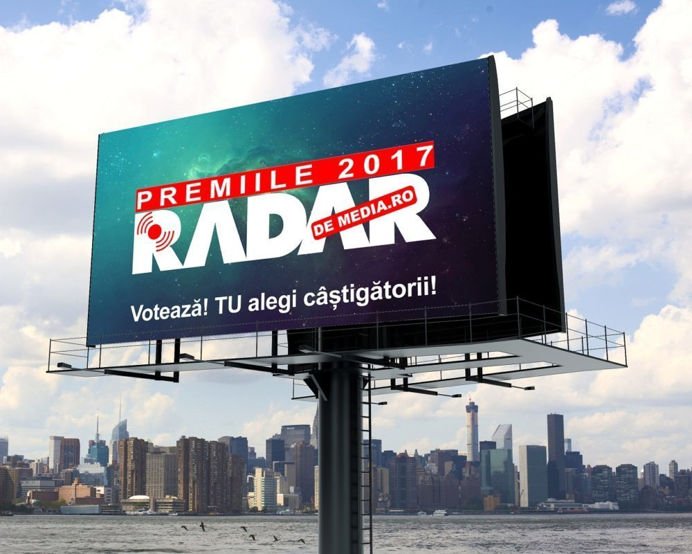 START VOT PREMIILE RADAR DE MEDIA 2017 - Etapa preliminară