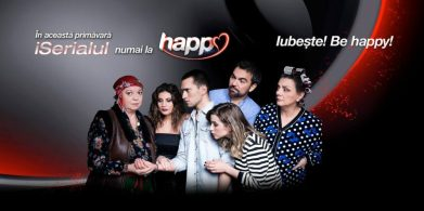 Banner iSerial - CAND MAMA NU-I ACASA, HAPPY CHANNEL