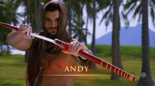 Andy INSULA IUBIRII, ANTENA 1