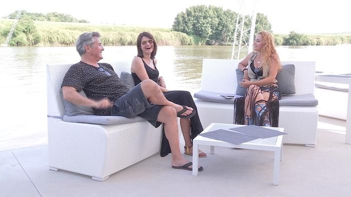 """Premieră în showbiz: Dan Bittman şi iubita sa, Liliana, pentru prima dată împreună într-o emisiune tv la """"Refresh by Oana Turcu"""""""