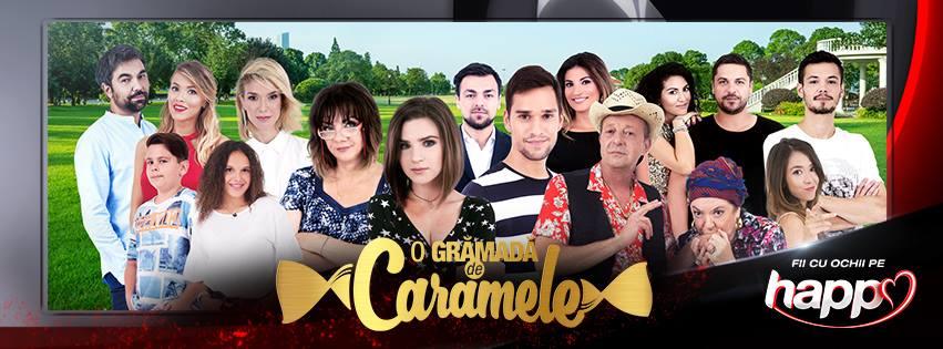 """Serialul romanesc """"O grămadă de caramele"""" are premiera, luni, la HAPPY CHANNEL"""