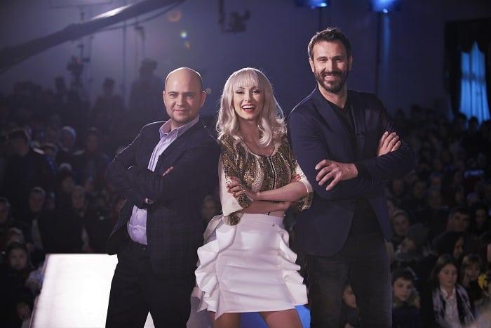 Nicolai Tand, Andreea Bălan și Cosmin Seleși, ie romania