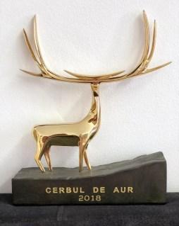 trofeu_Cerbul de Aur 2018