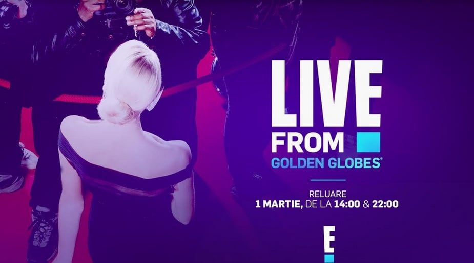 E! Entertainment transmite live ediția din 2021 a Premiilor Golden Globes