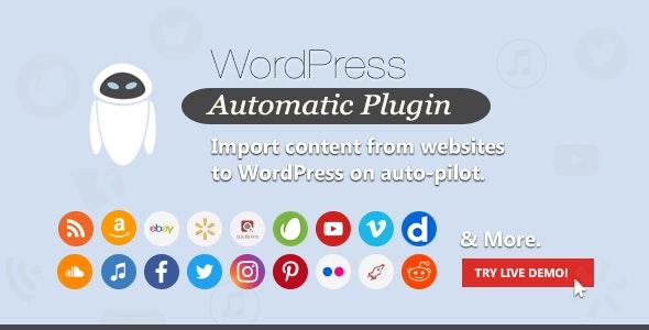 WordPress Automatic Plugin 3.50.12 latest version Free download