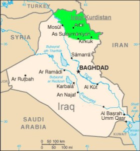 curdistc3a3o-iraquiano-mapa