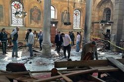 Atentado em igreja cristã copta do Egito deixa 25 mortos e mais de 50 feridos