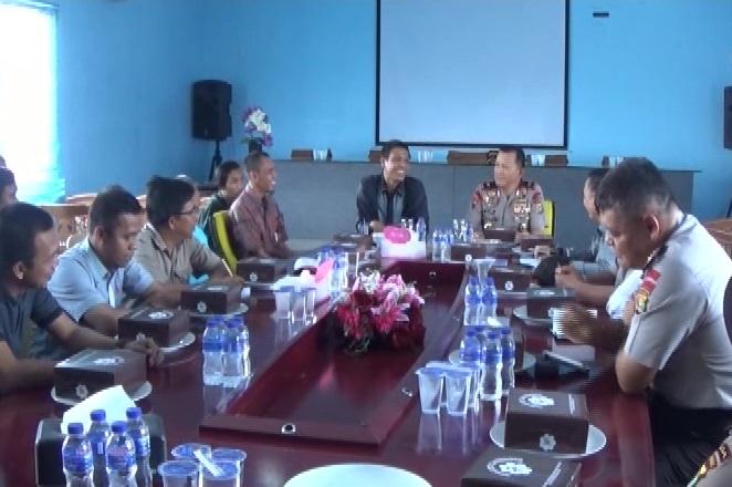 Kapolda Ajak Jajaran Humas Kunjungi Graha Pena Lampung