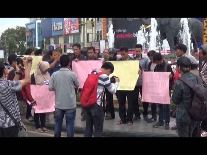 Jurnalis Lampung, Minta Usut Tuntas Kasus Penganiayaan Wartawan