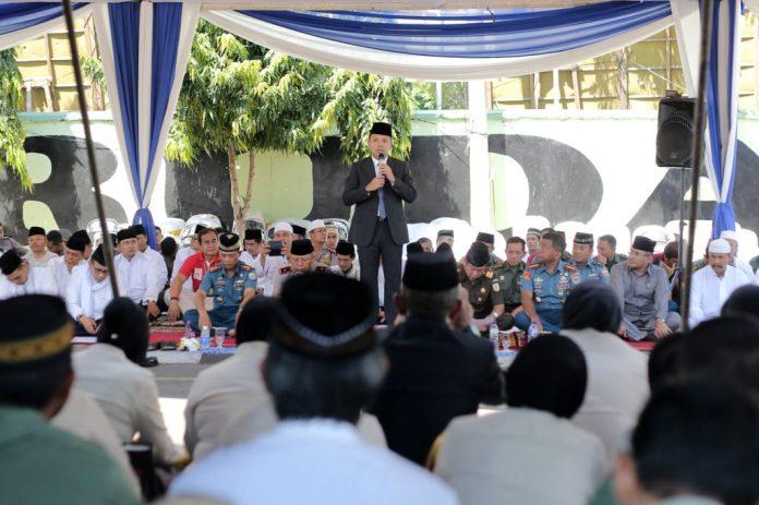 Gubernur Lampung Hadiri Sholat Istighozah Dan Doa Bersama