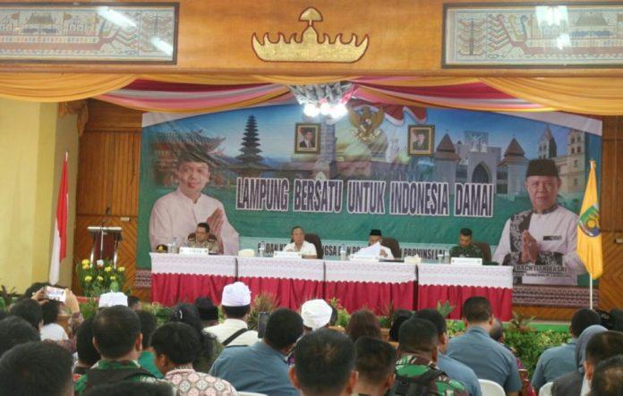 Lampung Bersatu untuk Indonesia yang Damai
