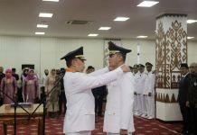 Yudha Setiawan Dilantik Menjadi Penjabat Bupati Pringsewu Sementara