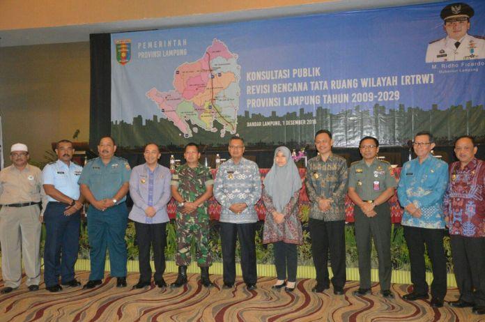 Revisi Dokumen RTRW Provinsi Lampung Diharapkan Lebih Baik dan Berdaya Saing