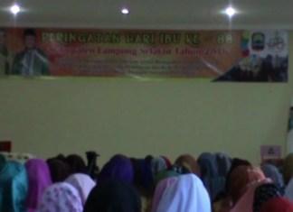Peringatan Hari Ibu, Ingat Jasa Ibunda, Bupati Lampung Selatan Menangis