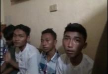 Petugas Babinkantibmas Dikeroyok Sembilan Remaja Pembalap Liar Ditangkap Polisi