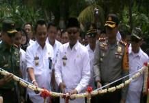 PLT Bupati Resmikan Jembatan Kabel Stayed