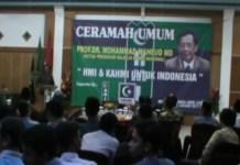 Mahfud MD Ingatkan Kader HMI dan KAHMI Untuk Jaga NKRI