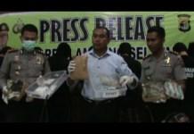 Selundupkan 48 Kg Ganja Kering,Polisi Amankan 6 Tersangka