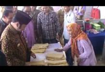 Nenek 80 Tahun Adu Nasib Ikut Seleksi Pedagang