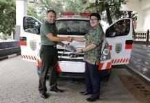 Pemprov Lampung Hibahkan Ambulans VIP ke RS DKT Bandar Lampung