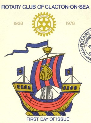 cachet from Rotary Club of Clacton-on-Sea