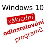 Jak odinstalovat program ve [Windows 10]