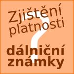 Zkontrolování platnosti dálniční známky – eZnamka.sk