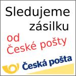 Sledujeme zásilku od České pošty