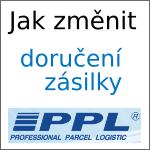 Změna doručení balíku od PPL