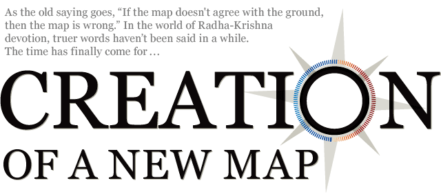 Creation of a new map