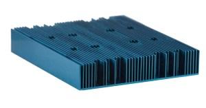 Plate Fin Heatsink for linear flow environments - Radian