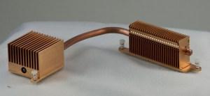 Heatpipe with radiator