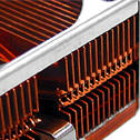 Custom stamped fin heatsinks