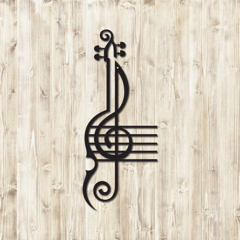 Treble Clef Violin Home Decor