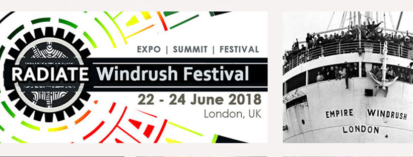 Image result for radiate windrush festival