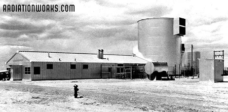 The SL-1 Reactor Plant at the National Reactor Testing Station near Idaho Falls, Idaho before the 1961 accident.