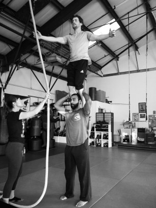 Acrobatics Class Rose Calucchia
