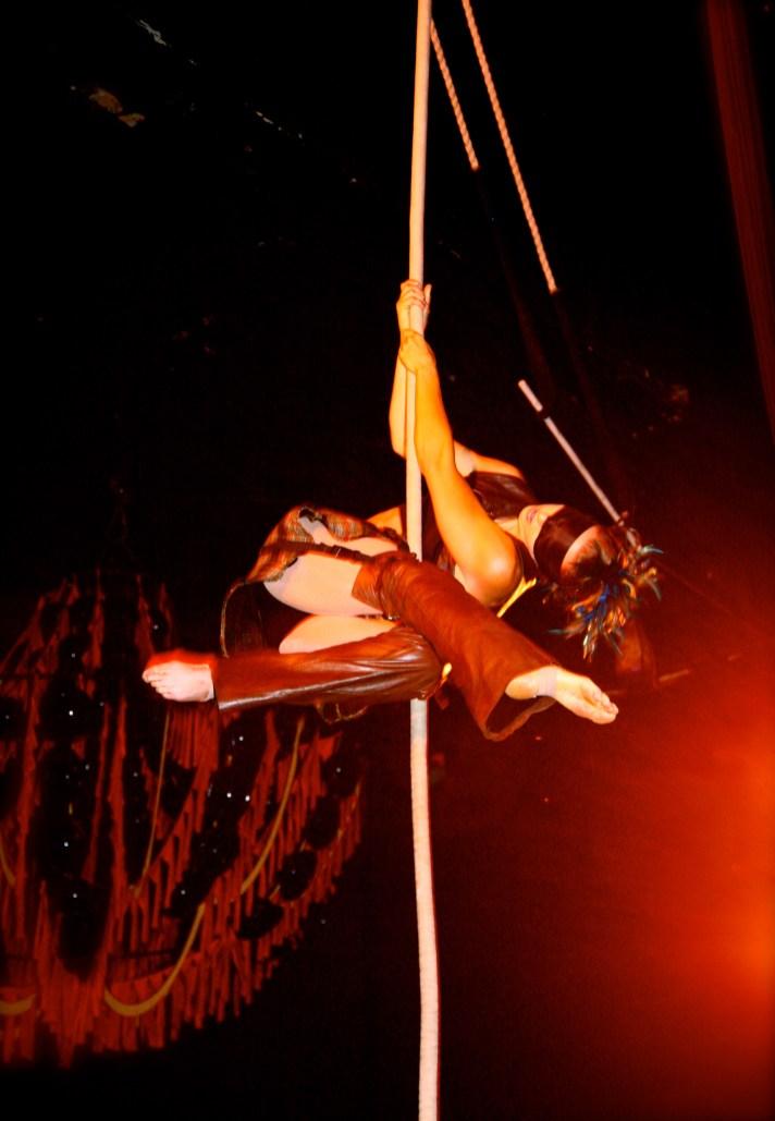 Aerial Rope Performance