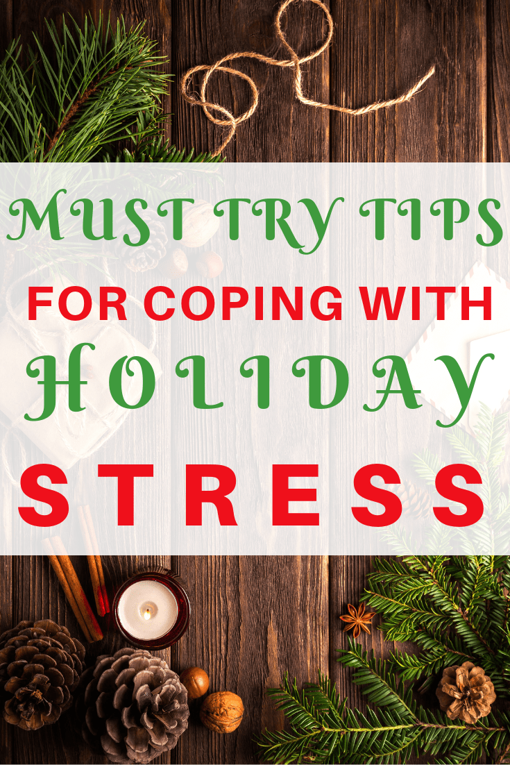 Check out this guide for coping with holiday stress